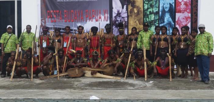 Event-pesta-budaya-Papua-XI-yang-di-ikuti-kontingan-dari-Kabupaten-Puncak-Jaya