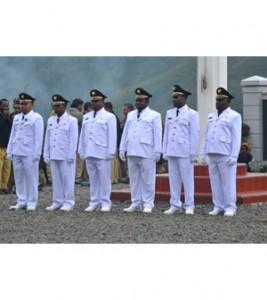 Pelantikan 6 Kepala Distrik di Kabupaten Puncak Jaya