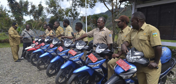 Meningkatkan-Kinerja-Kerja-Dinas-Kehutanan-dan-Perkebunan-Datangkan-kendaraan-Dinas-Roda-Dua-2