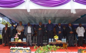 HUT GIDI, Tamu Undangan Bersama Pimpinan Daerah dan Gereja