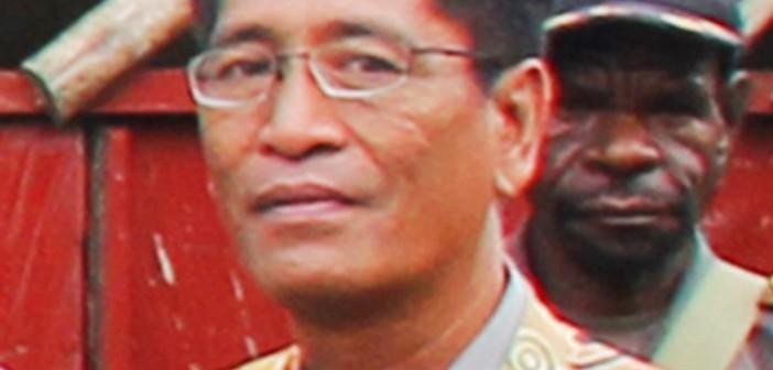 Kepala DPKAD Kabupaten Puncak Jaya Hj. Syamsudin Roma, S.Sos