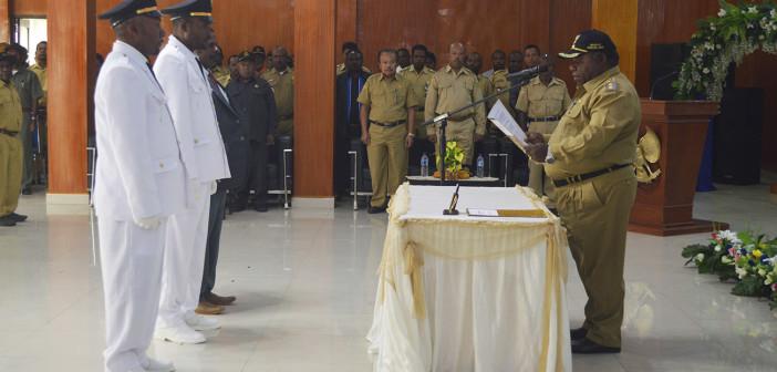 Pengambilan Sumpah Janji Kepala Distrik