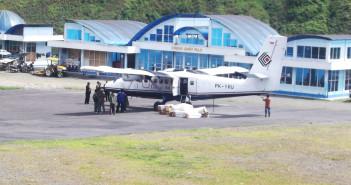 Prasarana di Bandara Mulia