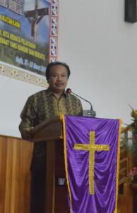 Sambutan Bupati Puncak Jaya yang di Bacaka Asisten 3 Bid. Administrasi Umum