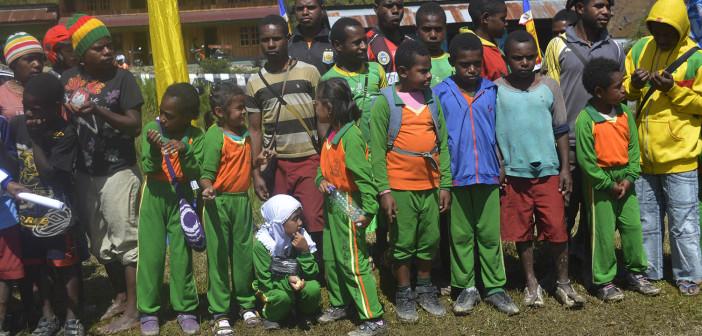 Para Siswa SD yang mengikuti kegiatan Pertandingan dan Perlombaan