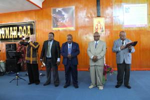 Pentahbisan Rumah Doa Oleh 4 Pdt dari Berbagai Denominasi di Tanah papua