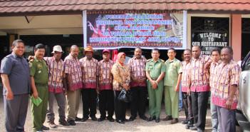 Foto Bersama Peserta Pelatihan Dishutbun Puncak Jaya & Dishutbun Toraja Utara