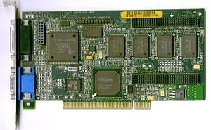 Sebuah Kartu Grafis (VGA)