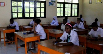 Suasana Pelaksanaan Ujian SMP