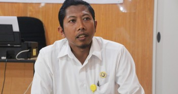 Kepala Puskesmas Mulia drg. Miftakhul Huda, M.Kes saat memberikan penjelasan seputar Akreditasi PKM Mulia