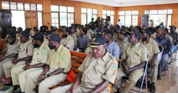 Para Kepala Kampung yang menghadiri Pelatihan