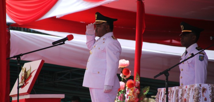 Bupati Puncak Jaya Yuni Wonda, S.Sos, S.IP MM