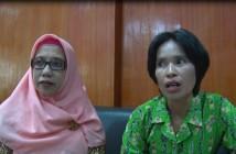 Kabid Perkebunan dan Peternakan Sulbiah Salam bersama staf saat diwawancarai