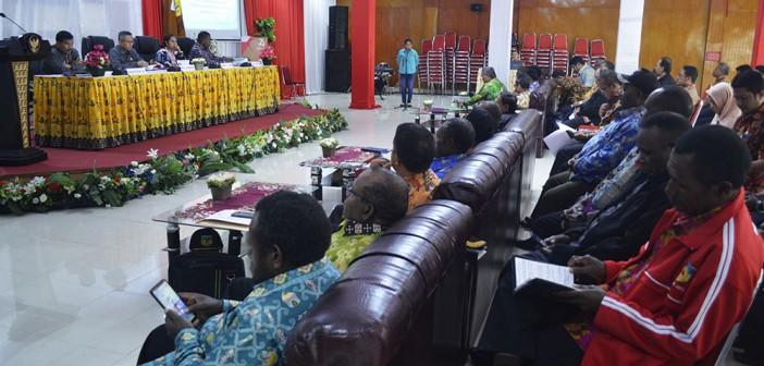 Rapat Koordinasi dan evaluasi dalam rangka pelaksanaan program dan kegiatan, Finalisasi APBD-P 2019 dan Persiapan Penyusunan Program dan kegiatan Tahun Anggaran 2020.