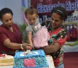 Suasana Ungkapan Syukur Perayaan Hari Ulang Tahun Ketua TP-PKK Kabupaten Puncak Jaya Ny. Ursula W. Wonda, S.KM, M.Kes