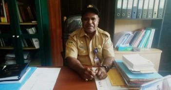 Kepala Dinas Kesehatan Eliatas Telenggen, S.IP, M.SI