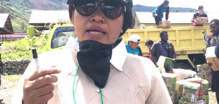 Kepala DPKAD Puncak Jaya Yubelina Enumbi, SE