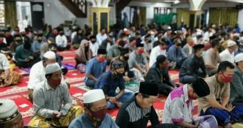 Suasana Jamaah Shalat Idul Adha