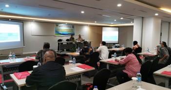 Suasana Pelatihan Penyusunan APBD mengacu PP Nomor 12 tahun 2019 di Mercury Hotel Jayapura