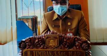 Sekretaris Daerah Tumiran, S.Sos, M.AP