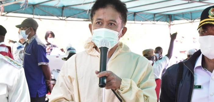 Juru Bicara Gugus Tugas Percepatan dan Penanganan Covid-19 di Puncak Jaya