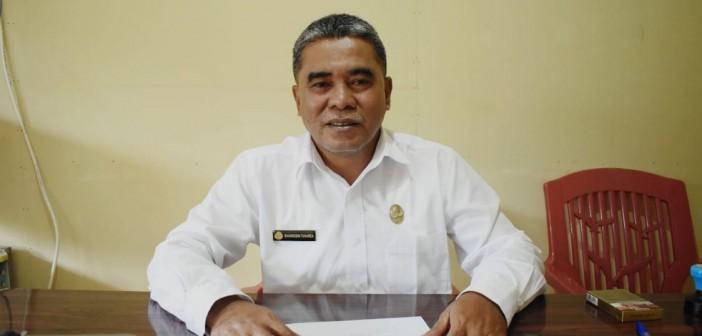 Kepala BPN Puncak Jaya saat ditemui Media